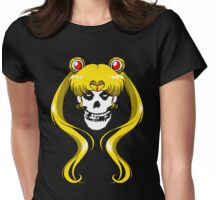 Moon Misfit Womens Fitted T-Shirt