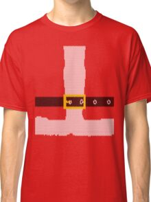 Santa Claus Knitted Shirt Classic T-Shirt
