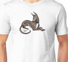Dog - Greyhound - Dark Brindle Unisex T-Shirt
