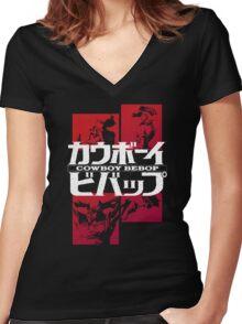 Cowboy Bebop - T-shirt / Hoodie Women's Fitted V-Neck T-Shirt