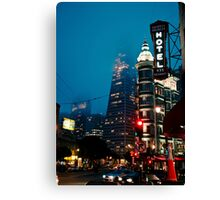 San Fran Evening Canvas Print