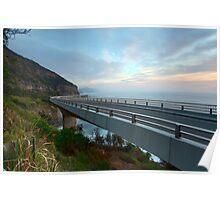Sea Cliff Bridge, Coalcliff NSW Poster