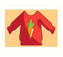 Bundle of Laundry • Sweater Weather Art Print