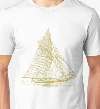 Vintage Sailing Ship Unisex T-Shirt