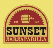 Sunset Sarsaparilla Kids Clothes