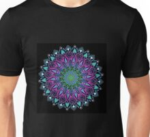 Bloom Mandala. Unisex T-Shirt