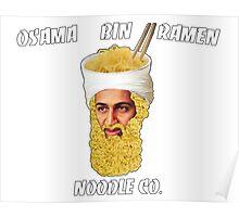 Osama Bin Ramen Noodle Co. Poster