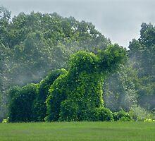 The Giant Kudzu Monster by WildestArt