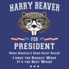 Harry Beaver for President by GUS3141592
