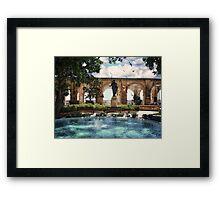Upper Barrakka in Summer - Valletta Framed Print