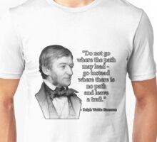 Ralph Waldo Emerson on Originality Unisex T-Shirt