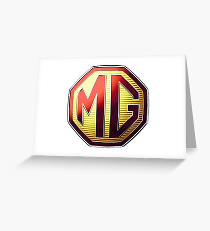 MG Logo Greeting Card