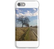 Country road landscape iPhone Case/Skin