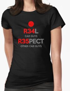 Real Respect (2) Womens Fitted T-Shirt