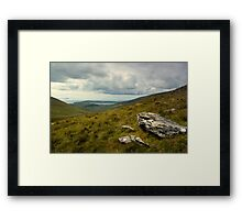 View From Conor Pass. Framed Print