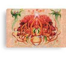 Conjoined Fruit Canvas Print