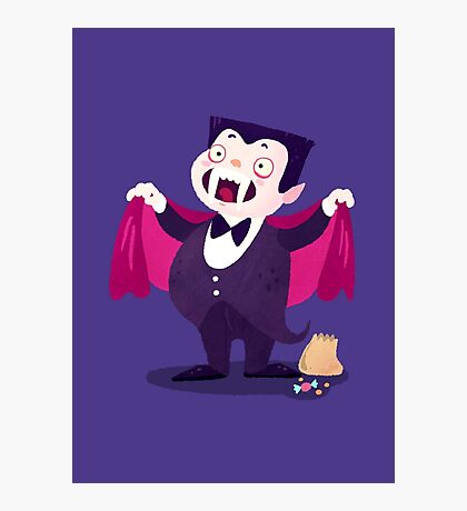 Halloween Kids - Vampire Photographic Print