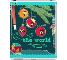 Joy to the World iPad Case/Skin