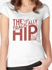 HIP tragically Vintage  Women's Fitted Scoop T-Shirt