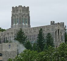 West Point Chapel (exterior) by Trish Meyer