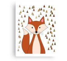Cute Forest Fox Canvas Print