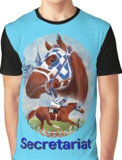 Secretariat Triple Crown Winner Graphic T-Shirt