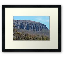 The Organ Pipes, Mount Wellington, Hobart Framed Print