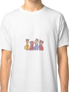 The Beatles as cats Classic T-Shirt