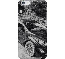 Sleek, sporty, cool car iPhone Case/Skin