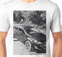 Sleek, sporty, cool car Unisex T-Shirt