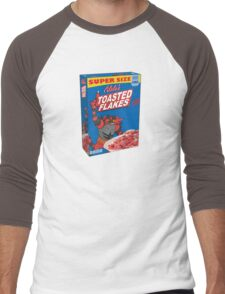 Alola's Toasted Flakes Cereal Men's Baseball ¾ T-Shirt