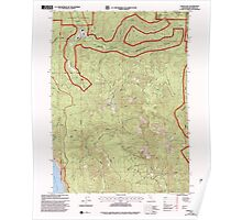 USGS TOPO Map California CA Childs Hill 100179 1997 24000 geo Poster