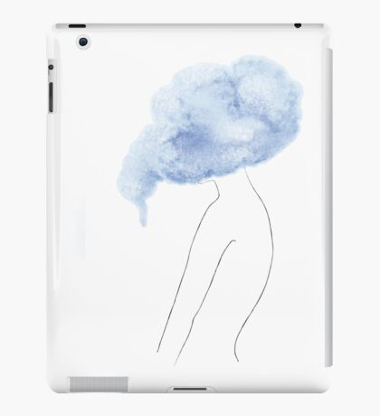 Conceptual drawing - the Body - Emotion Cloud iPad Case/Skin