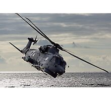 Merlin Helicopter Photographic Print