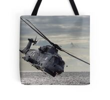 Merlin Helicopter Tote Bag