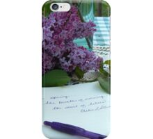 Scent of Lilacs iPhone Case/Skin