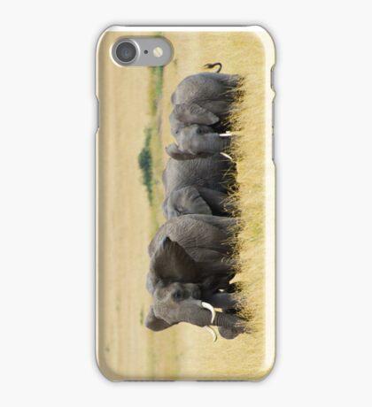 The Herd - Masai Mara iPhone Case/Skin