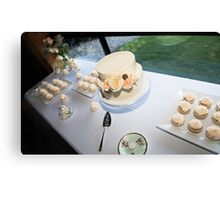 Cakes cakes cakes Canvas Print