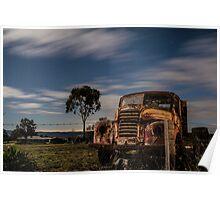 River Lett Truck Poster