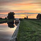 West Somerton Sunset by Avril Harris