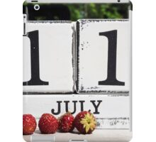 July 11 iPad Case/Skin