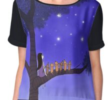 Wish Upon A Star Chiffon Top
