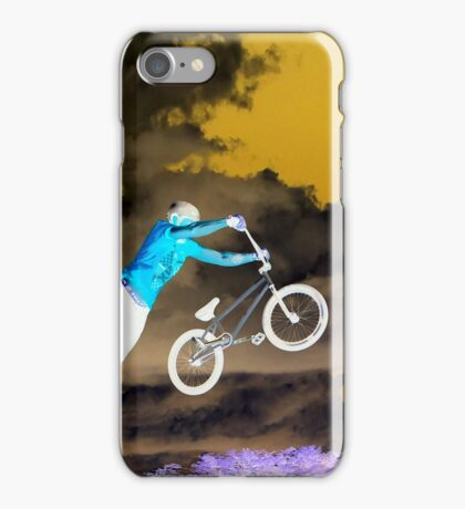 FLYING BIKE BMX iPhone Case/Skin