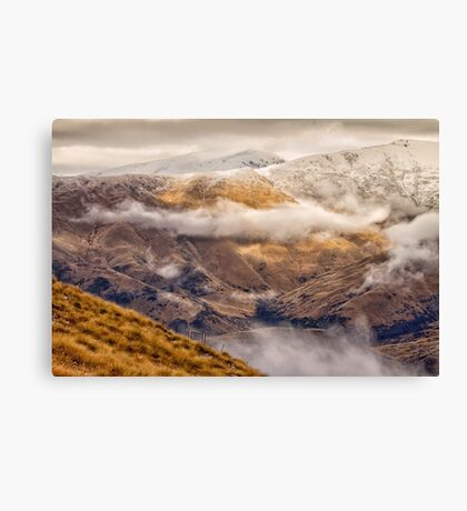 Crown Range Pass #1 Canvas Print