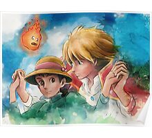 One Magical Family Sophie and Howl Poster