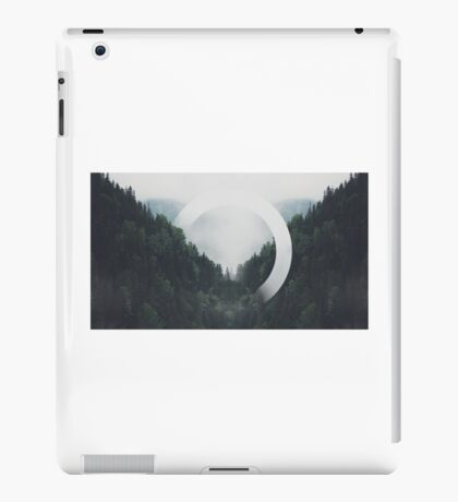 Trees n Fog iPad Case/Skin