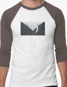 Trees n Fog Men's Baseball ¾ T-Shirt