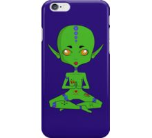 Yellow Eyed Spooky Space Baby iPhone Case/Skin