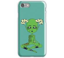 Horned Spooky Space Baby iPhone Case/Skin