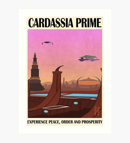 Star Trek - Travel Poster (San Francisco) Art Print